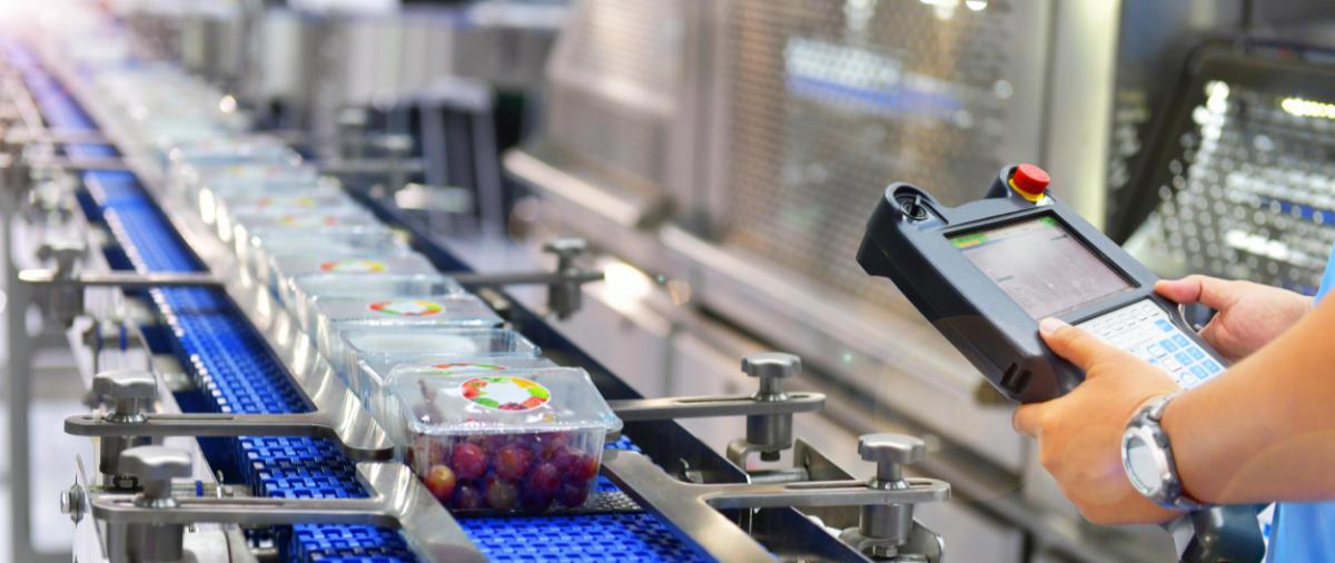 Etichettatura per migliorare i cicli di produzione e lavorazione degli almenti